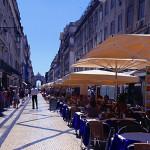 Die Rua Augusta - Fußgängerzone in der Baixa